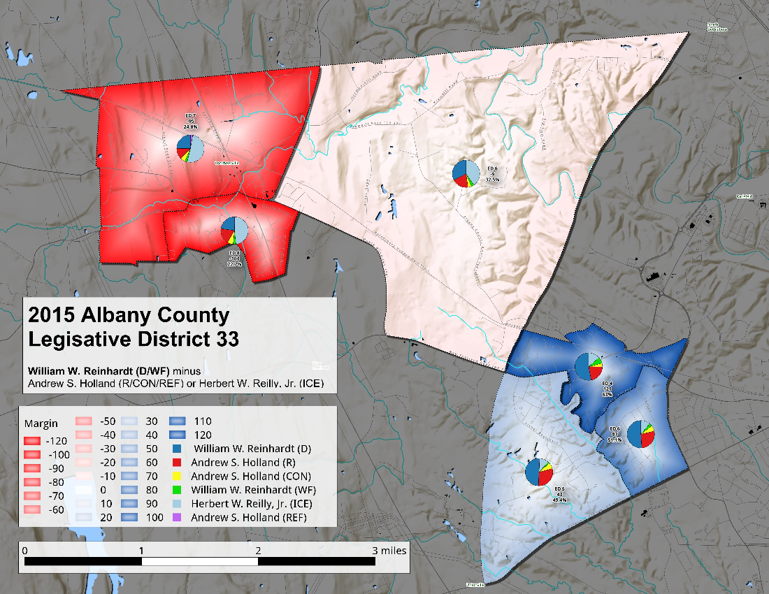 Map: 2015 Albany County LD 33