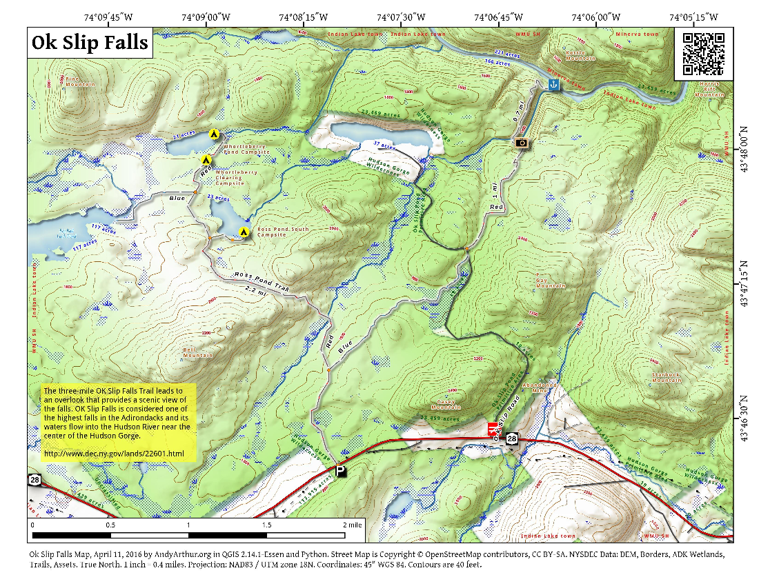 Map: Ok Slip Falls