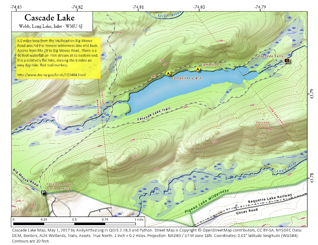 Map: Cascade Lake