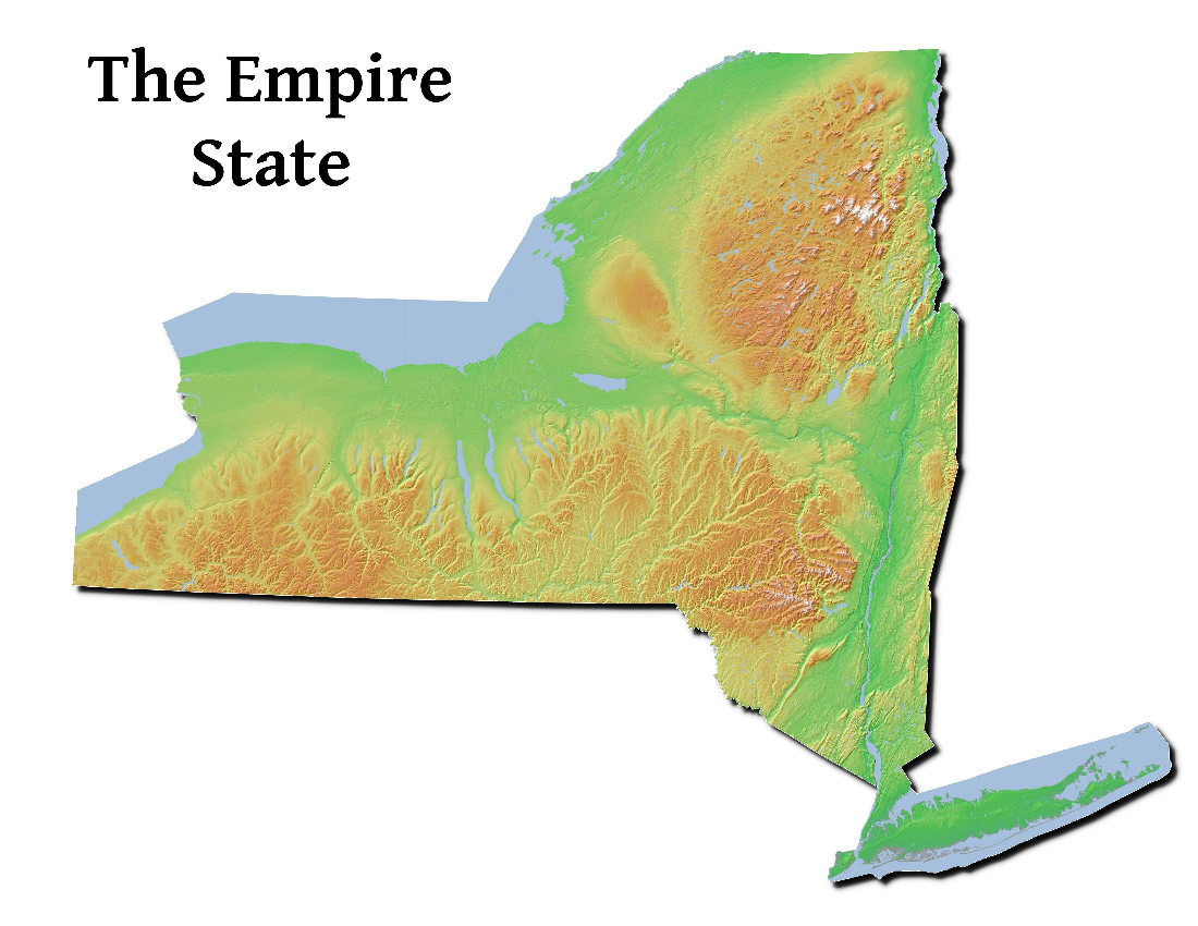 Map: The Empire State Map