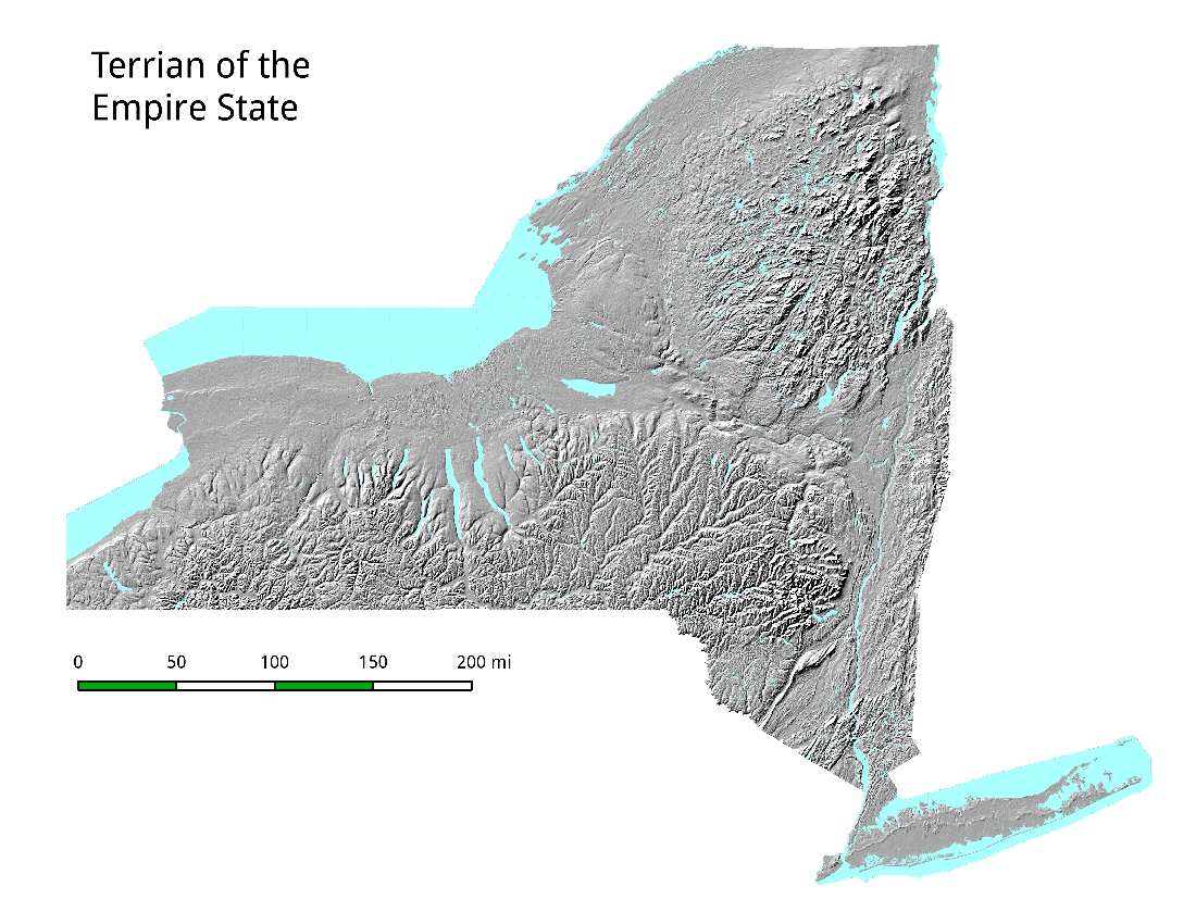 map empire state topography