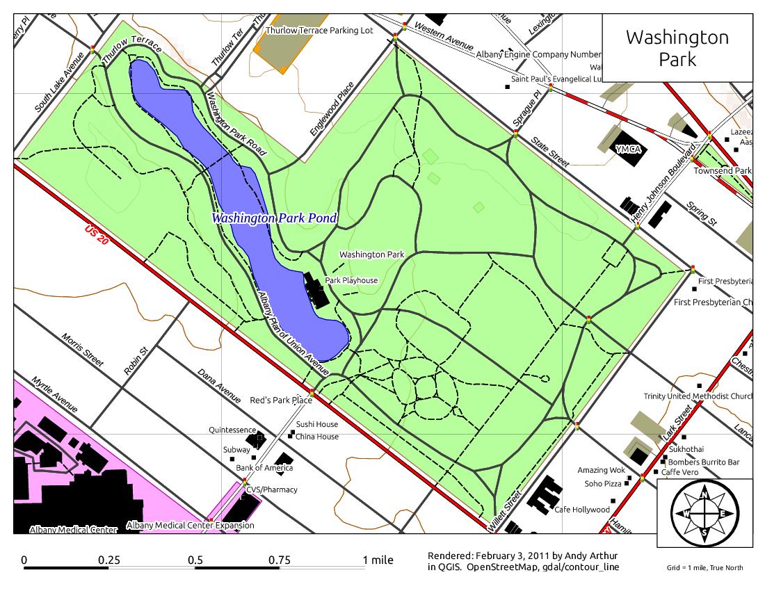 Map: Washington Park – Andy Arthur.org