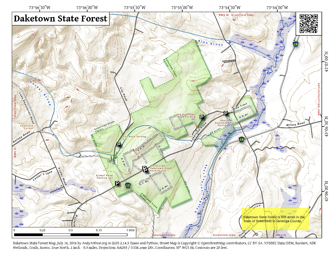 Daketown State Forest – Andy Arthur.org