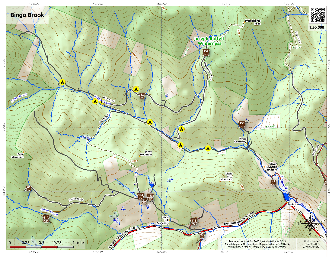 Map: Bingo Brook