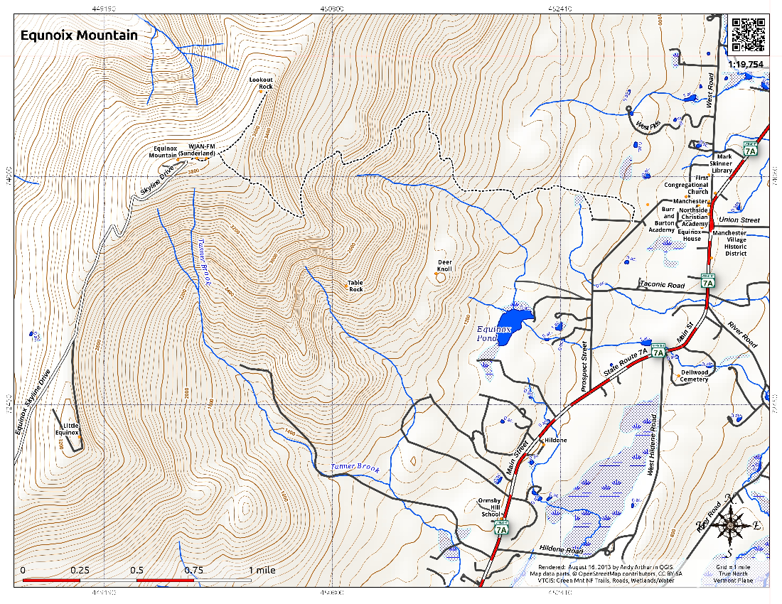 Map: Equnoix Mountain