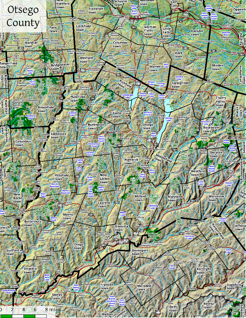 New york otsego county cherry valley - Otsego County Is In Central New York State To The West Of Albany Southeast Of Utica And Northeast Of Binghamton The County Is Considered By Some To