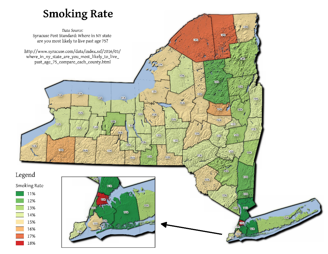 Map: Smoking Rate