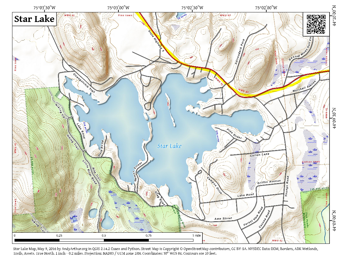 Map: Star Lake