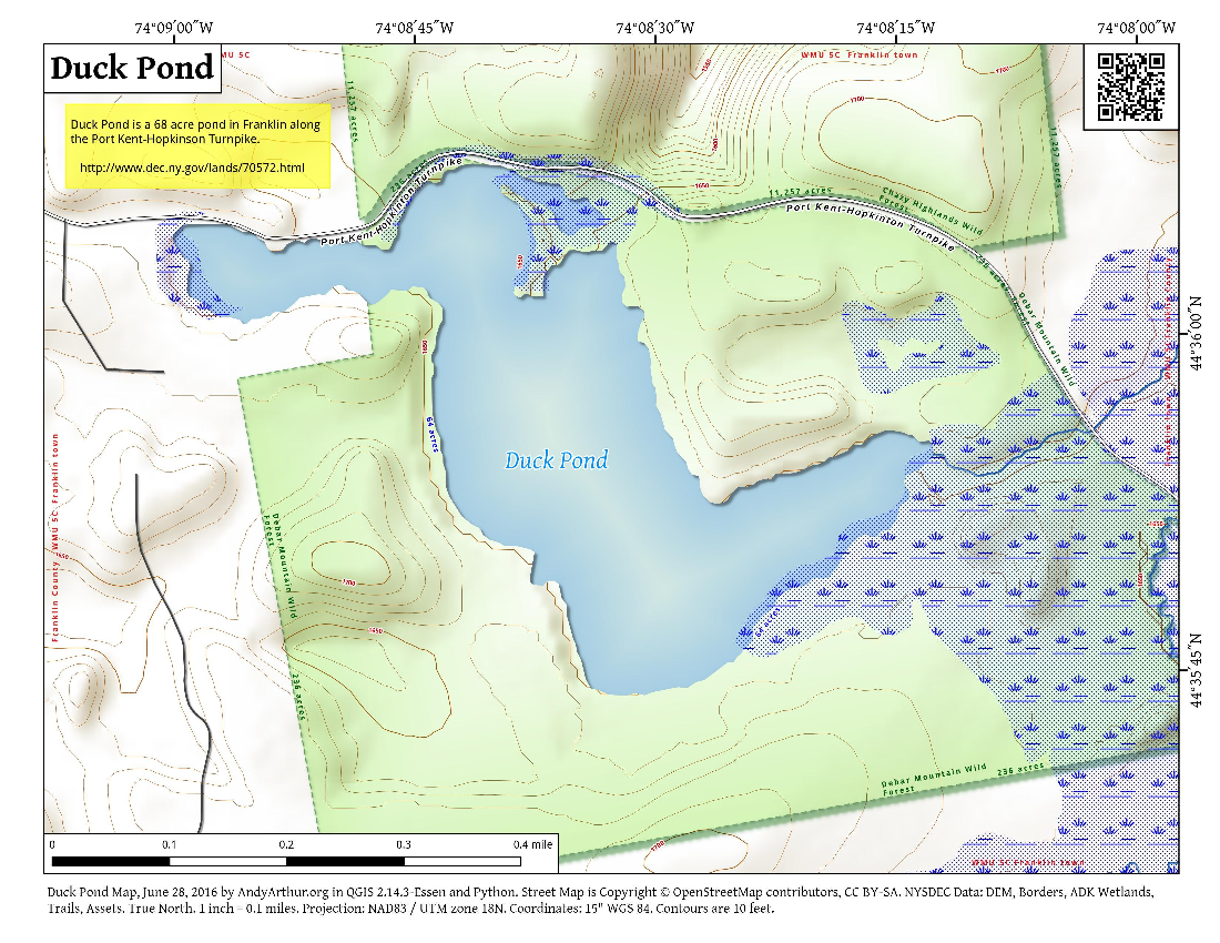 Map: Duck Pond