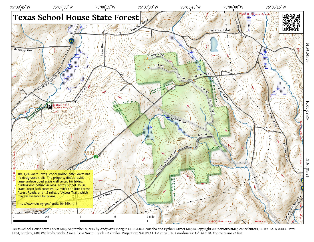 Texas School House State Forest – Andy Arthur.org