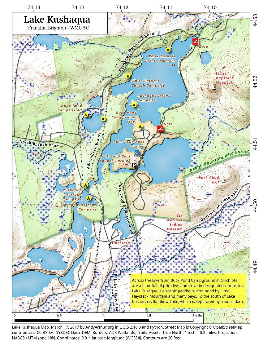 Lake Kushaqua Andy Arthur Org