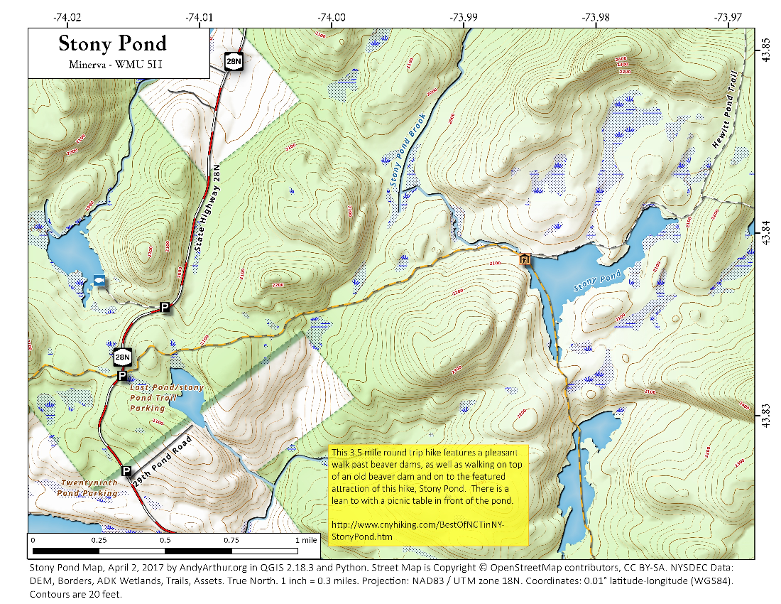 Map: Stony Pond