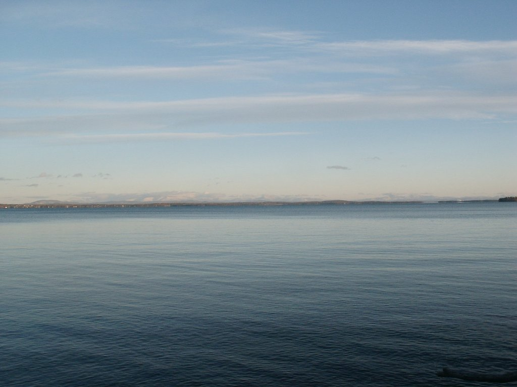 Photo: Lake Champlain in Evening