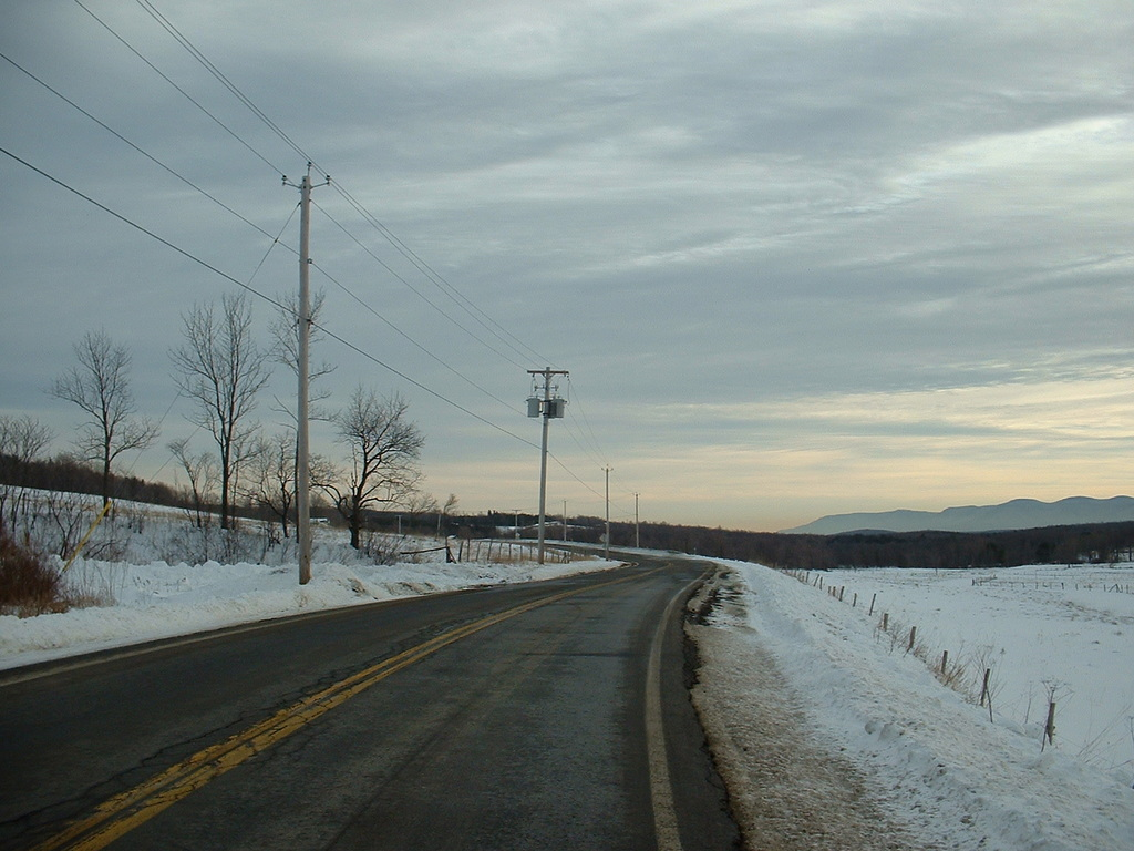 Photo: Snow Covered Route 2