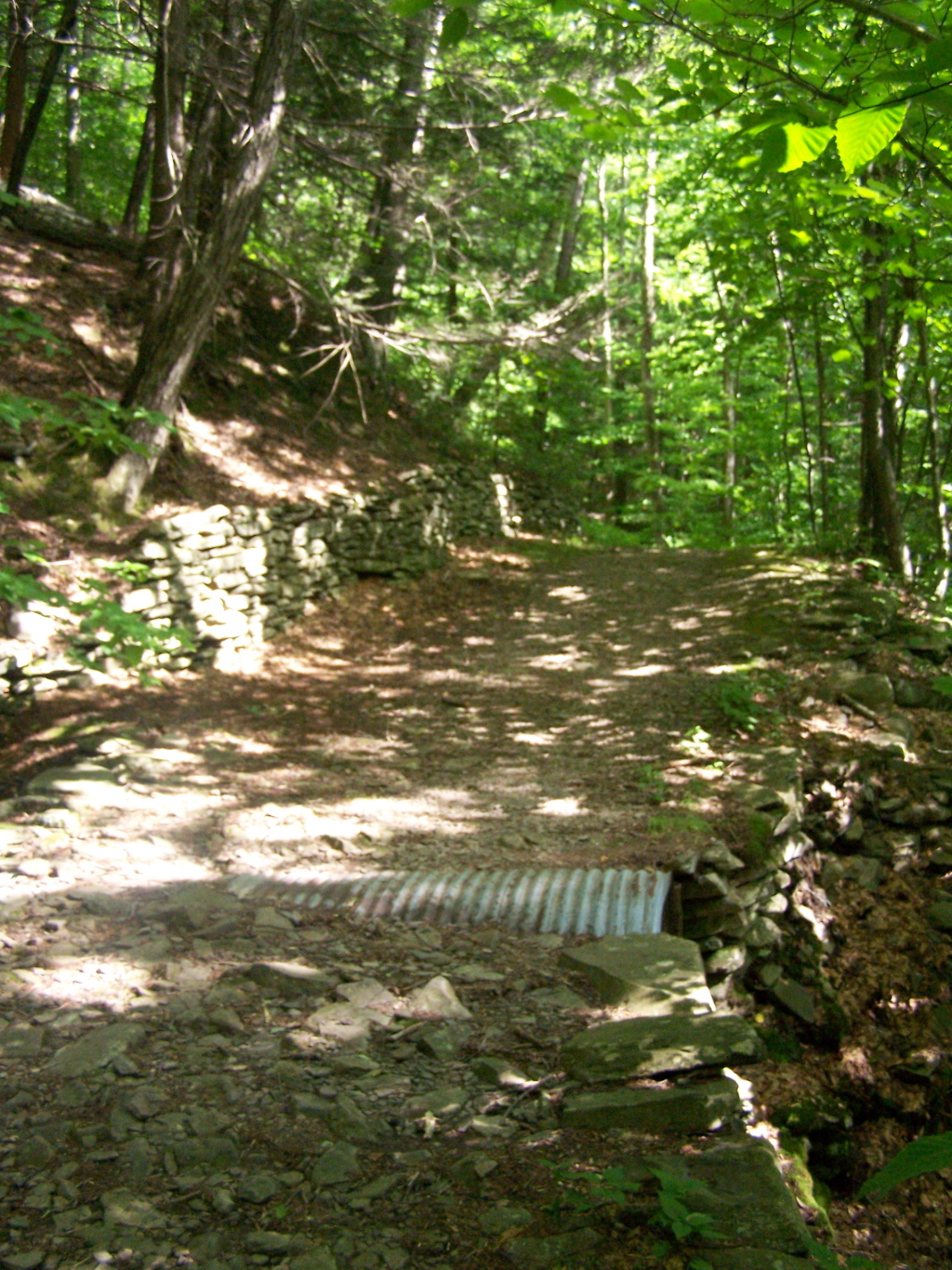 Photo: Built Up Fieldstone Trails