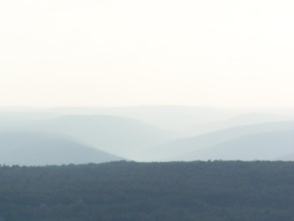 Photo: Rossman Hills in the Fog
