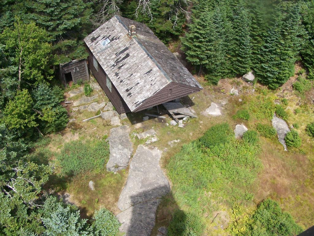 Photo: Cabin from Above