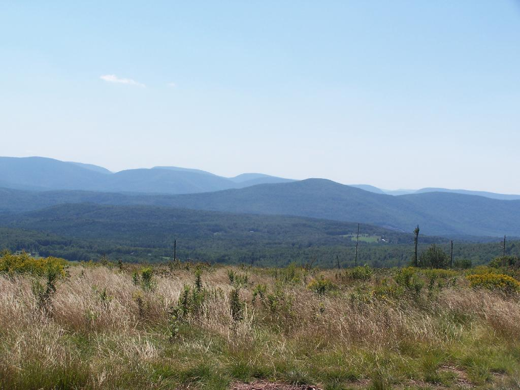 Photo: Plateau Mountain and Hunter Mountain