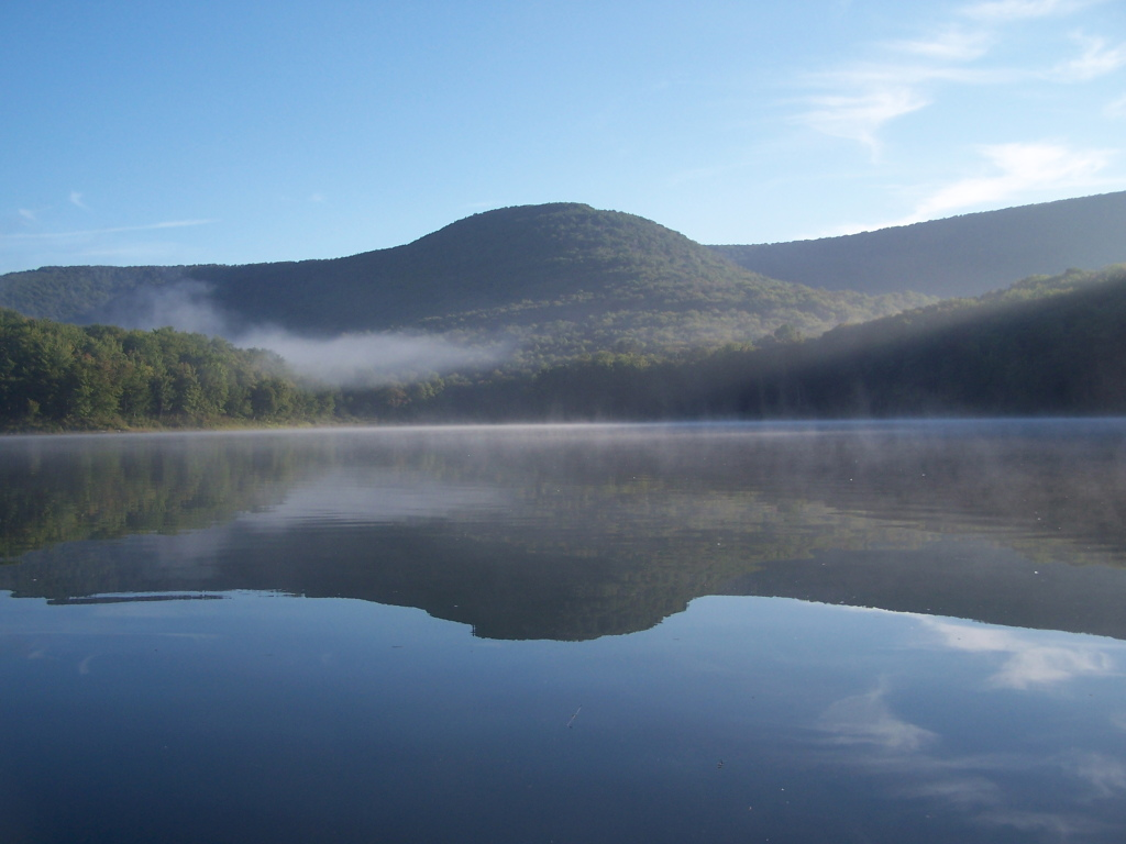Photo: Barkaboom Mountain Reflects On the Lake