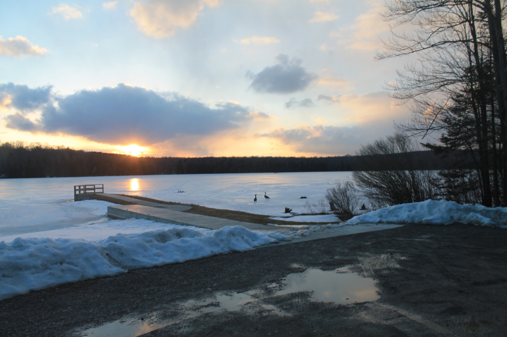 Photo: Boat Launch onto Balsam Pond