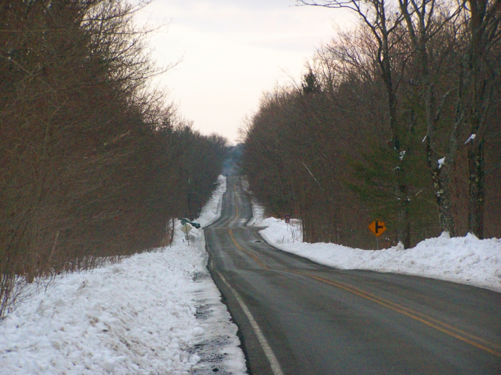 Photo: Ravine Road Streches Out in the Distance