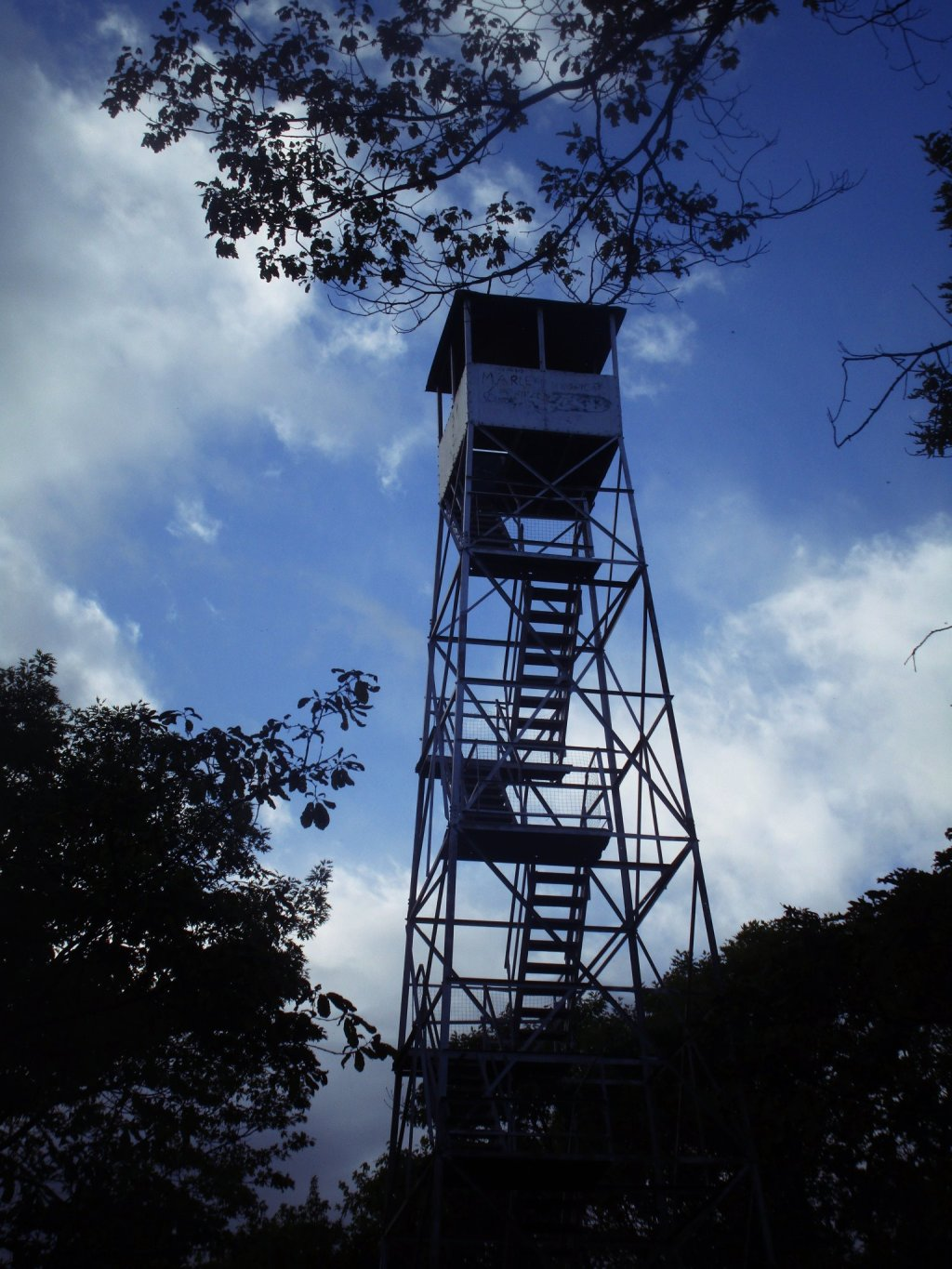 Photo: Beebe Hill Firetower Up Close