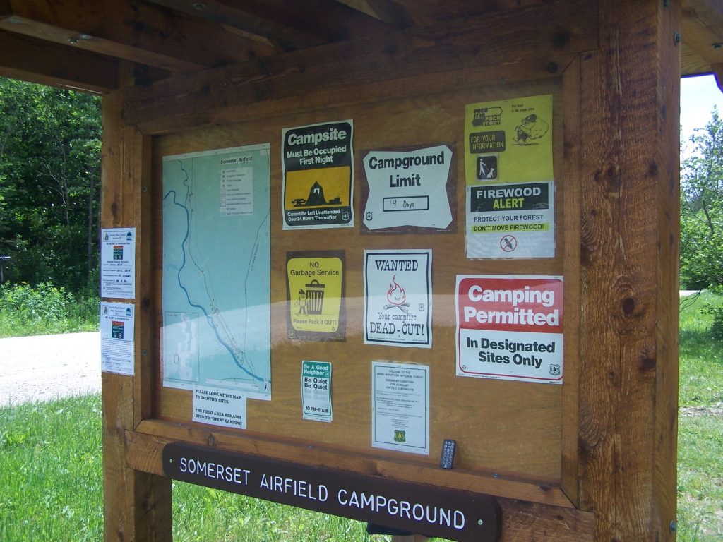 Photo: Somerset Airfield Campground
