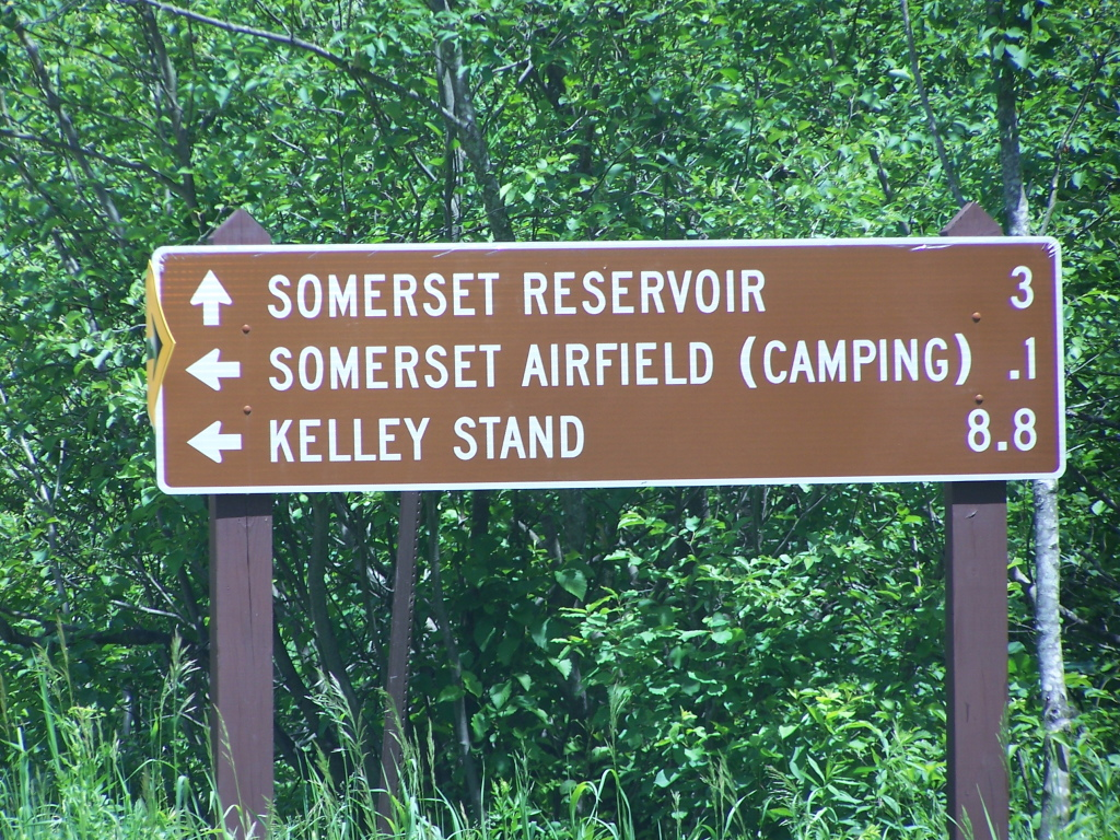 Photo: Somerset Airfield Sign