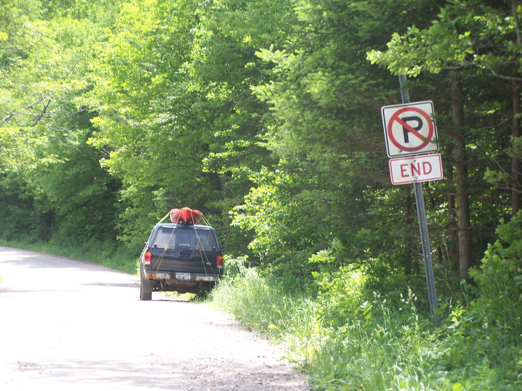 Photo: No Parking Near Deerfield River