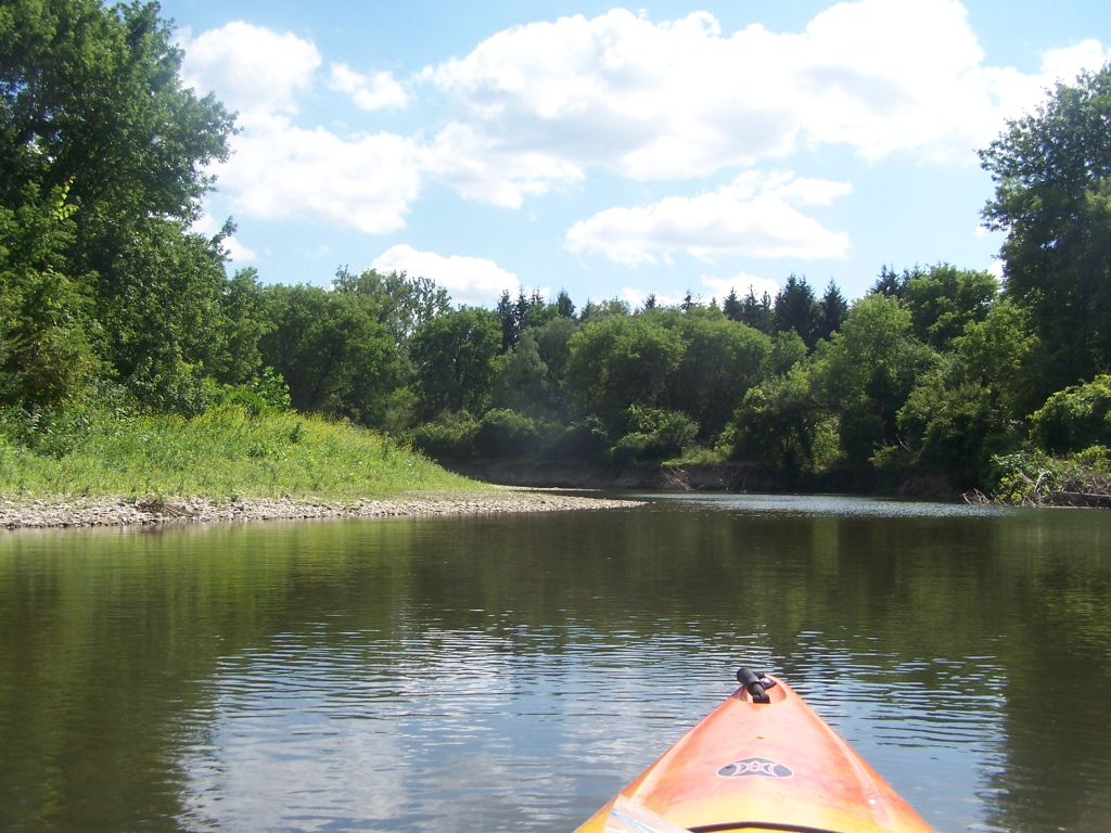 Photo: Heading Up Down the Chenango River