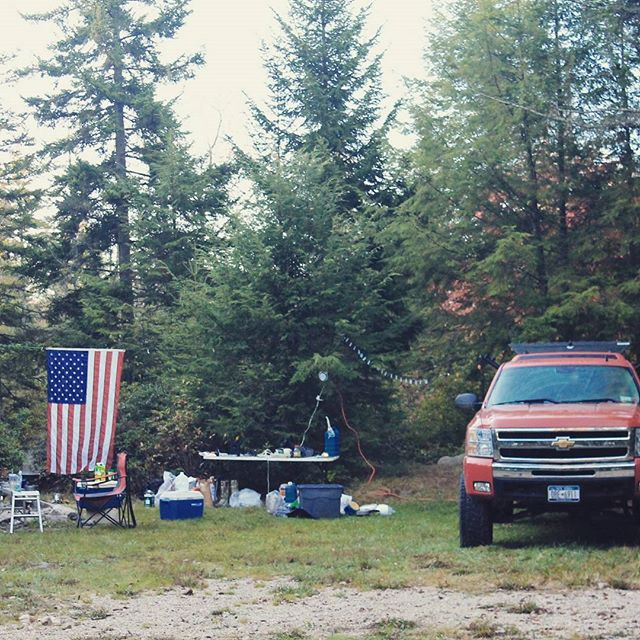 Photo: Camping on Forest Road 13