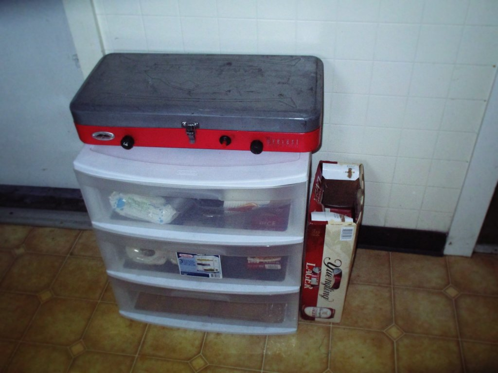 Photo: Free Storage Box I Got For Camping