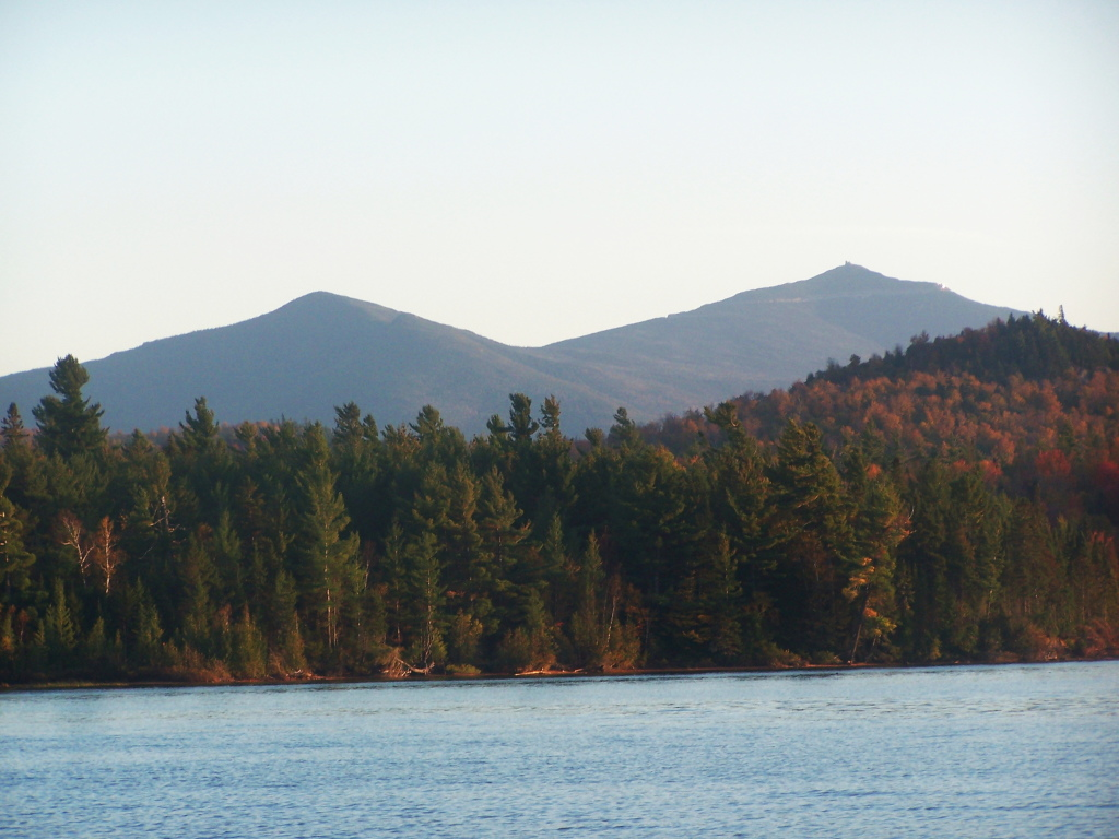 Photo: Whiteface and Catamount Mountain in Evening