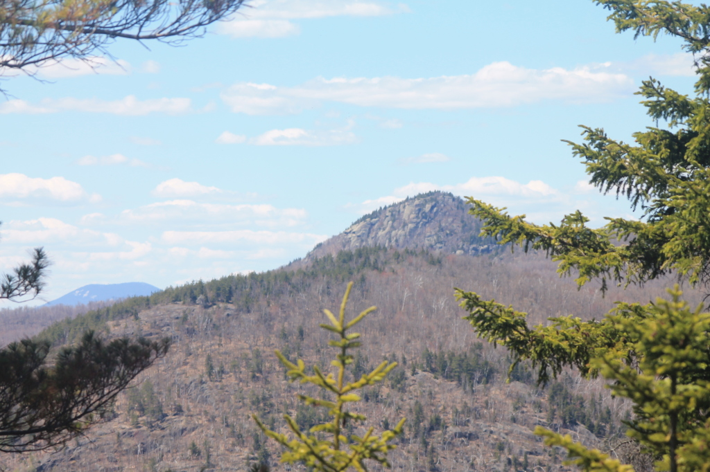 Photo: Hour Pond Mountain and Blue Mountain