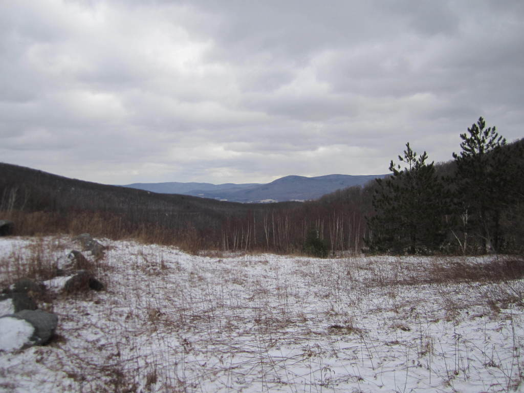 Photo: Looking Down Petersburgh Pass Into Massachussets