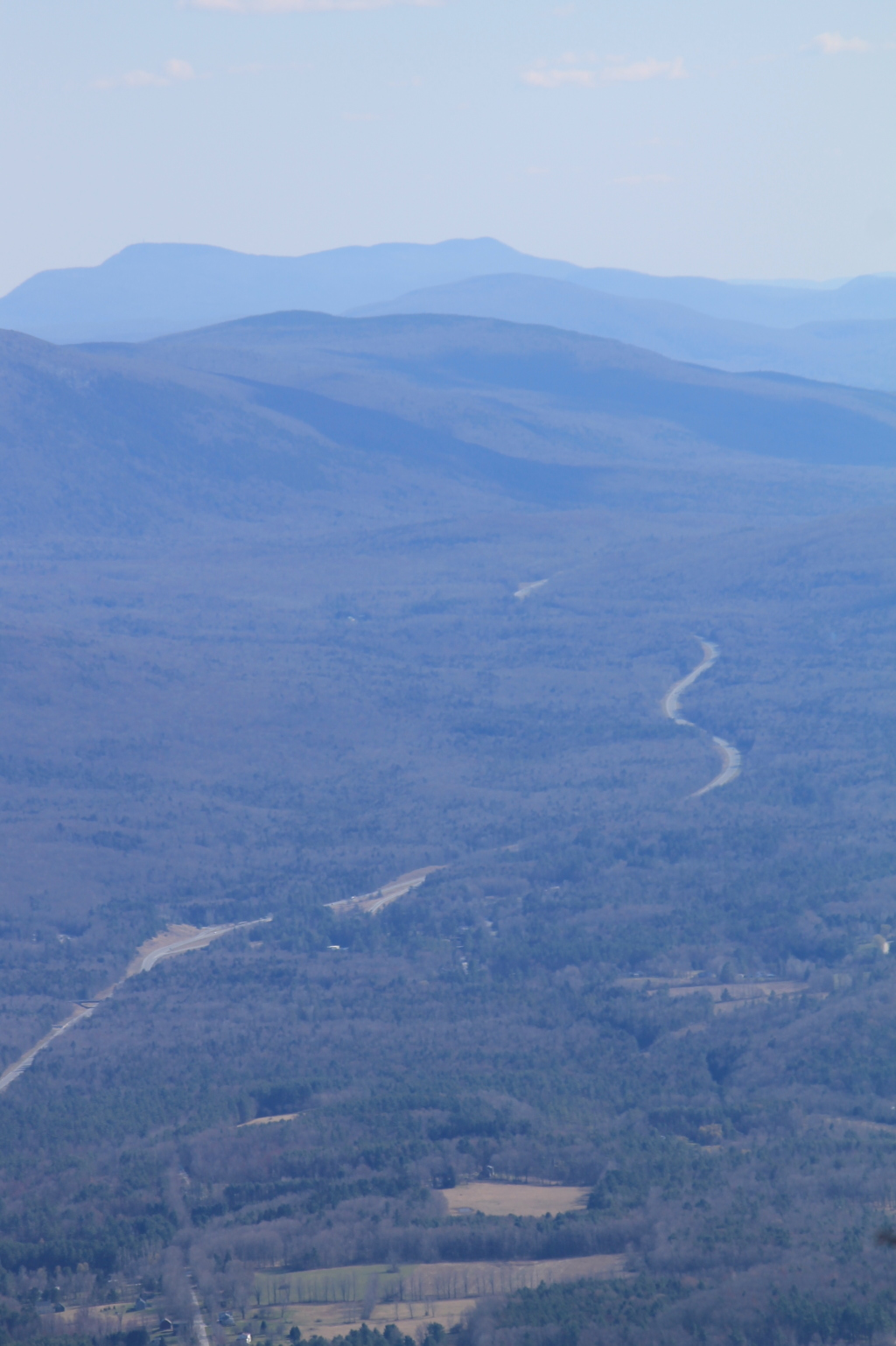 Photo: US 7 Winding Through Green Mountains