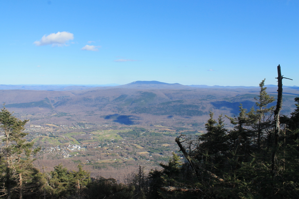 Photo: Stratton Mountain Rises in Distance