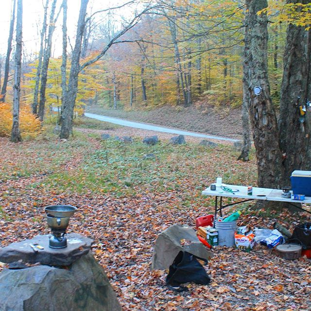 Photo: Camping along the Gandy River