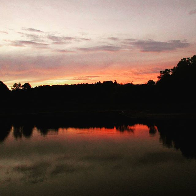 Photo: Dusk at Foster Pond