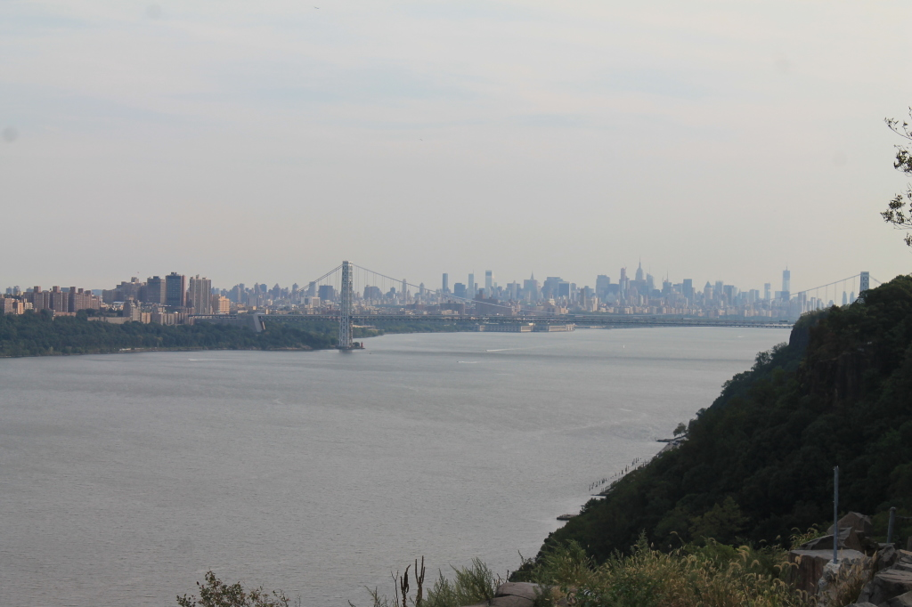 Photo: Manhattan and George Washington Bridge