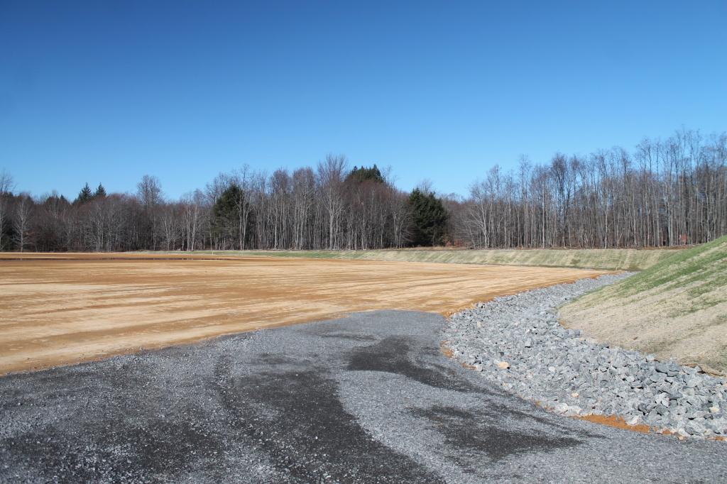 Photo: Edge of Marcellus Well Pad