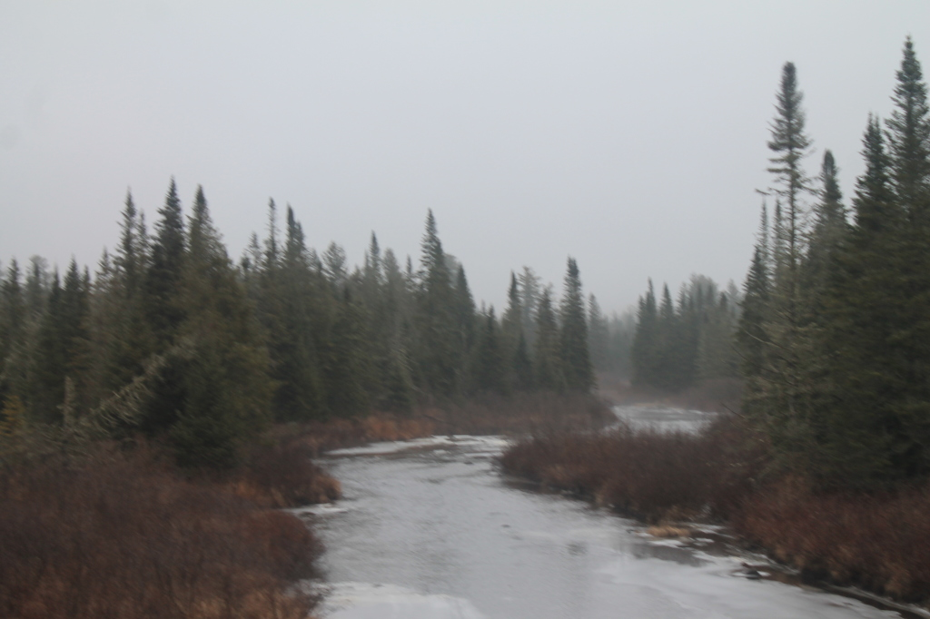 Photo: Fog Rises Off Boreas River