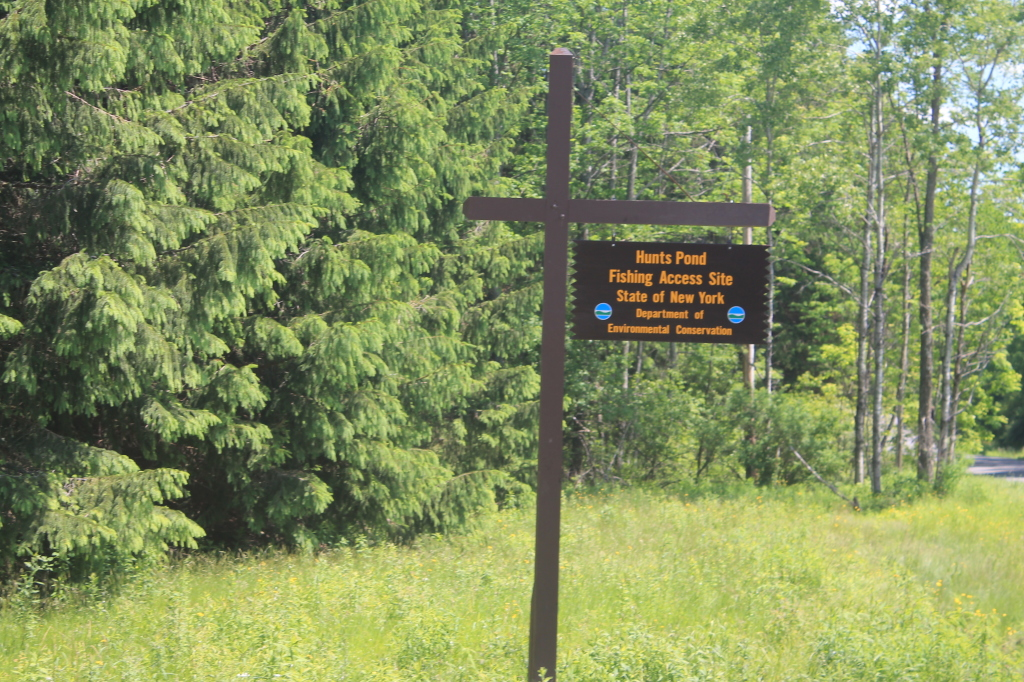 Photo: Hunts Pond State Forest Sign