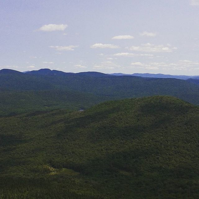 Photo: West from Wakely Firetower