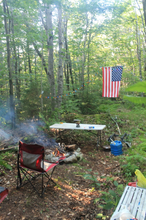 Photo: Camping on Steammill Road