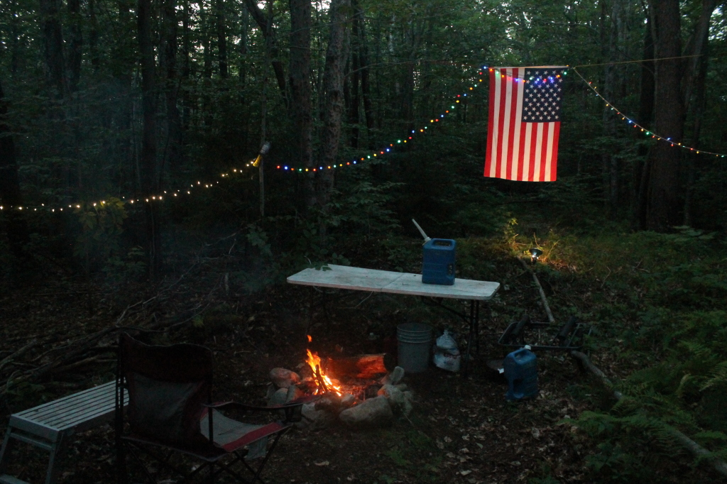 Photo: Camp for the Night