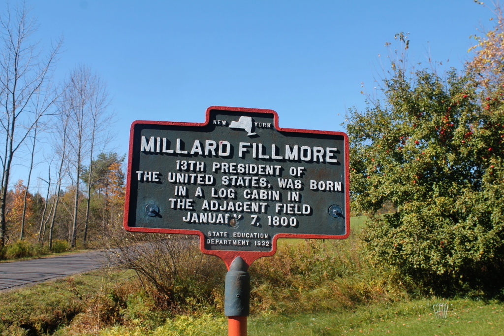 Photo: Millard Fillmore Historic Marker
