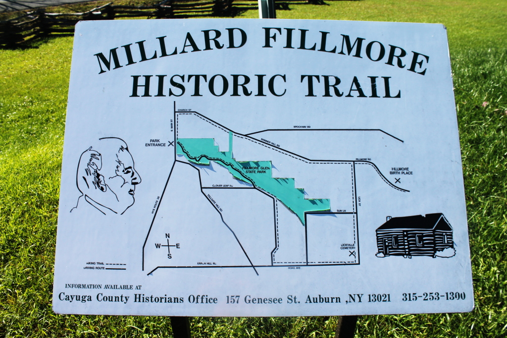 Photo: Millard Fillmore Historic Trail
