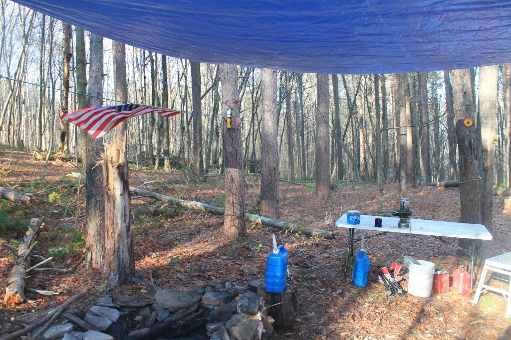 Photo: Mary Smith Hill Roadside Campsite 1