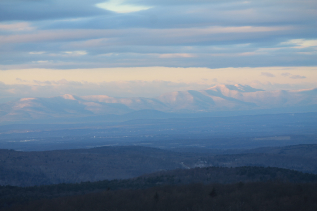 Photo: Clouds Over the Catskills